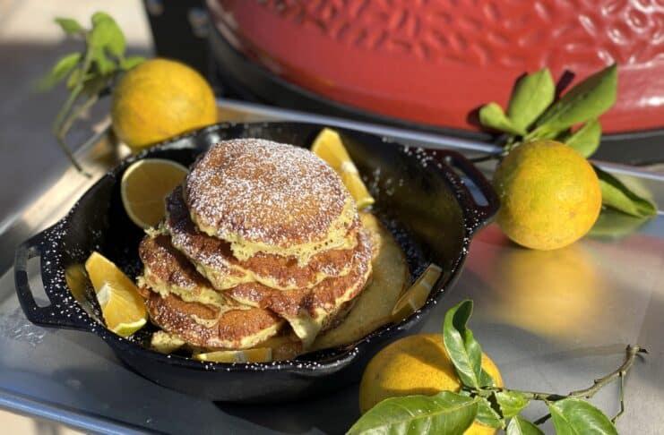 Orange Ricotta Pfannkuchen