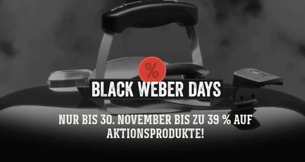 Black Weber Days mit bis zu 39% Rabatt cyber monday 2020-BlackWeberDays-Cyber Monday 2020 – der heißeste Tag der Black Week!