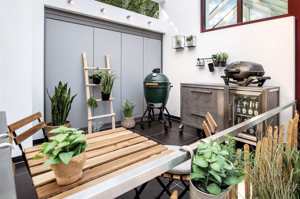 Auch kleine Lösungen sind möglich burnout kitchen-Burnout Kitchen Outdoorkuechen 02-Burnout Kitchen – Outdoorküchen der Extraklasse