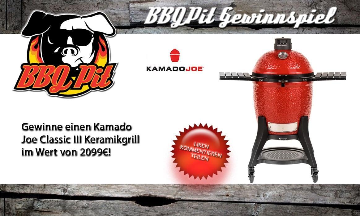 Gewinne einen Kamado Joe Classic III Keramikgrill