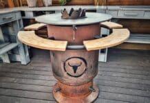 Bandit Fireplace [object object]-Moesta BBQ Bandit Fireplace Feuertonne Deluxe 218x150-BBQPit.de das Grill- und BBQ-Magazin – Grillblog & Grillrezepte –
