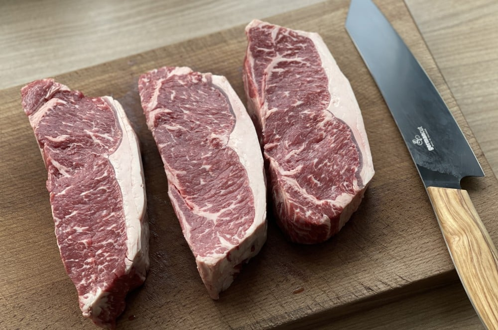 Greater Omaha Gold Label Roastbeef-Steak von Albers Food roastbeef-steak-Roastbeef Steak Rotweinschalotten 03-Roastbeef-Steak mit Rotwein-Schalotten