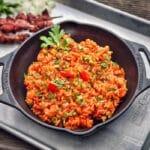 Djuvec-Reis djuvec reis-Djuvec Reis 150x150-Djuvec Reis – Rezept für den Gemüsereis mit Paprika, Ajvar und Erbsen