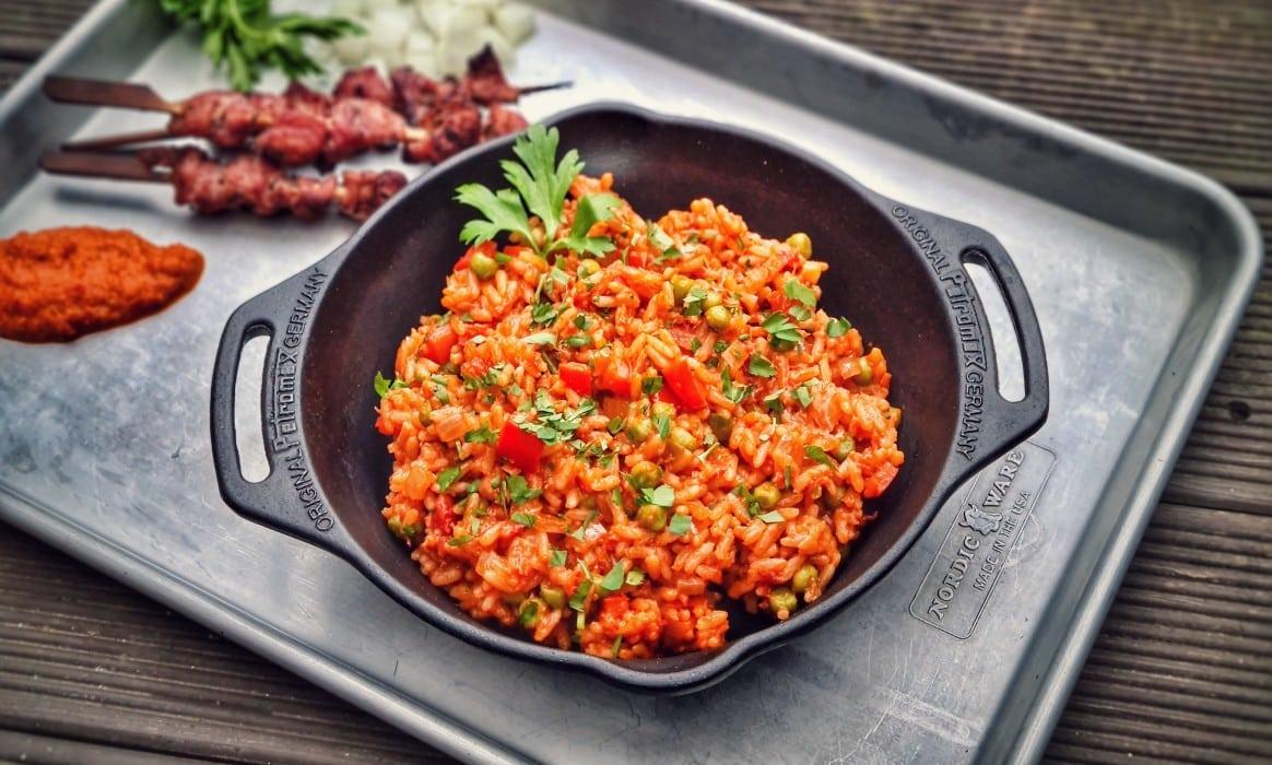 Djuvec-Reis djuvec reis-Djuvec Reis-Djuvec Reis – Rezept für den Gemüsereis mit Paprika, Ajvar und Erbsen