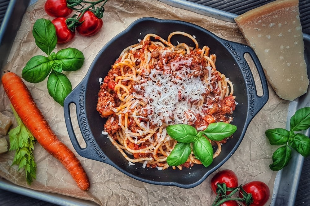 Ragù alla Bolognese mit Spaghetti ragù alla bolognese-Ragu alle Bolognese Sauce 07-Ragù alla Bolognese – Originalrezept für Bolognese-Sauce