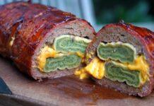 Bacon Bomb mit Maultaschen