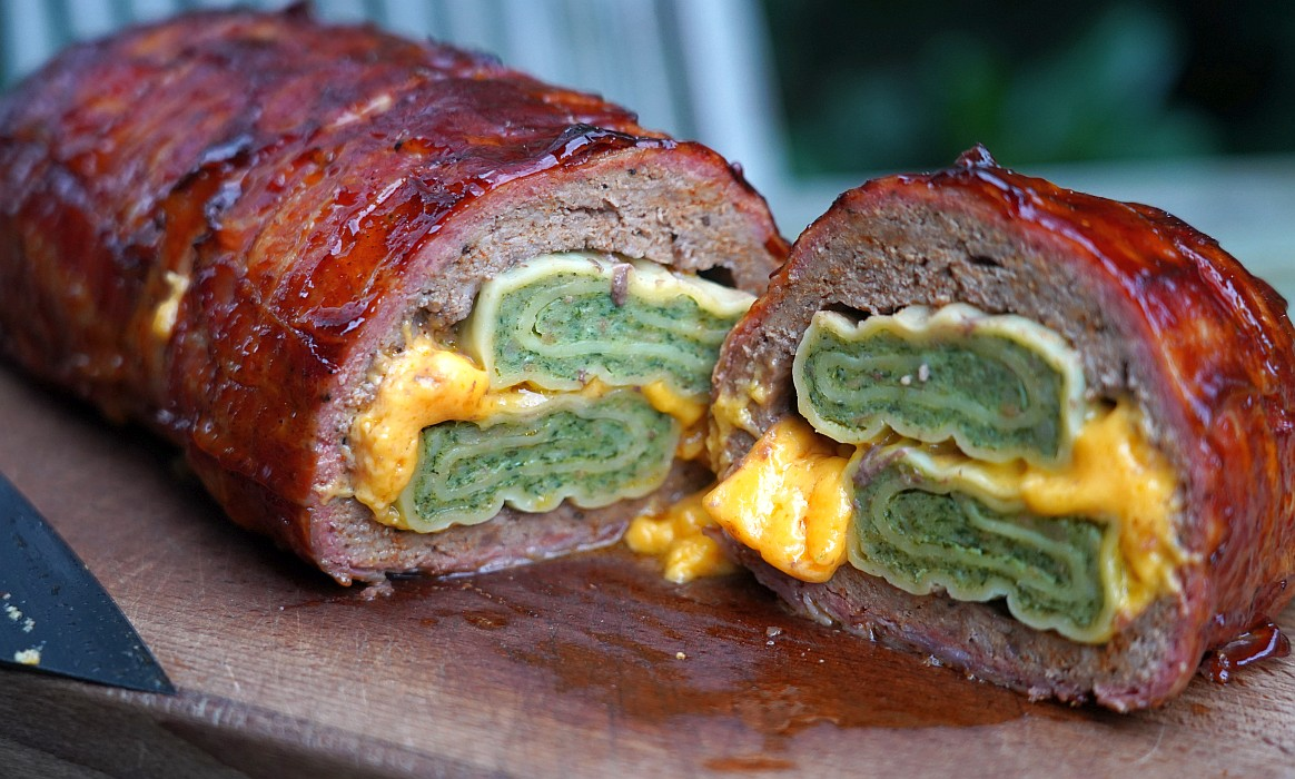 Bacon Bomb mit Maultaschen maultaschen bacon bomb-Maultaschen Bacon Bomb-Maultaschen Bacon Bomb