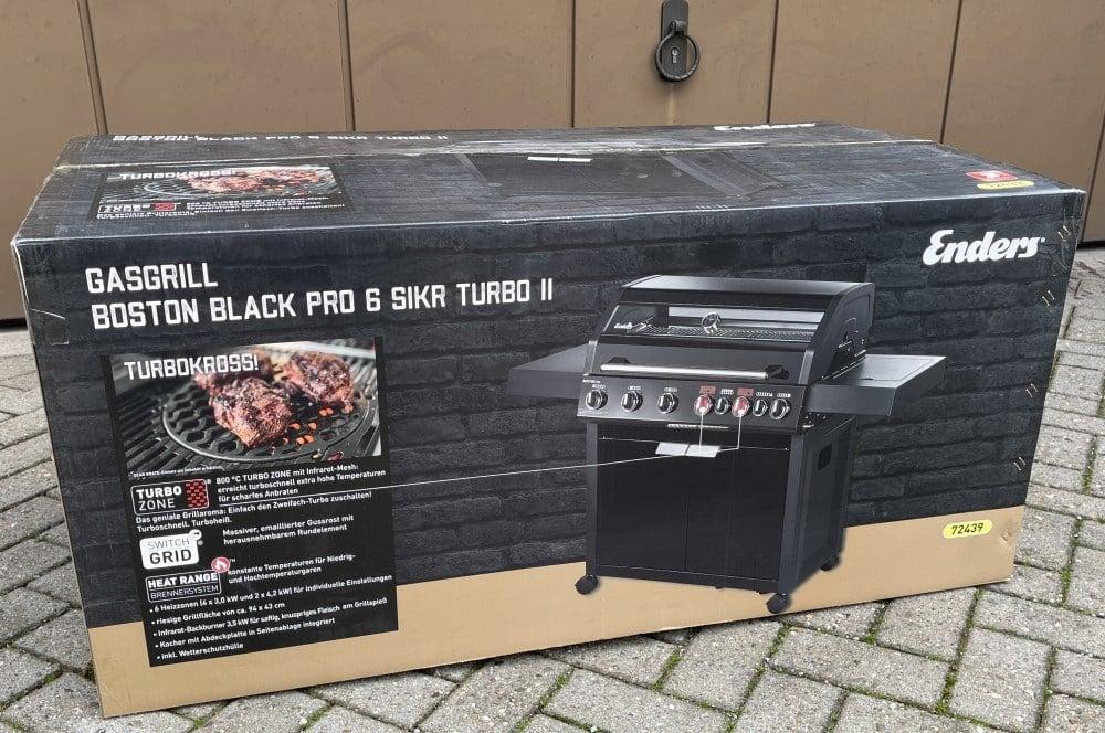 So ist der Enders Boston Black Pro 6 SIKR Turbo II verpackt aldi-grill-Aldi Grill Enders Boston Black Pro 6 SIKR Turbo II Gasgrill 01-ALDI-Grill: Enders Boston Black Pro 6 SIKR Turbo II für 579€ ab 25.03.