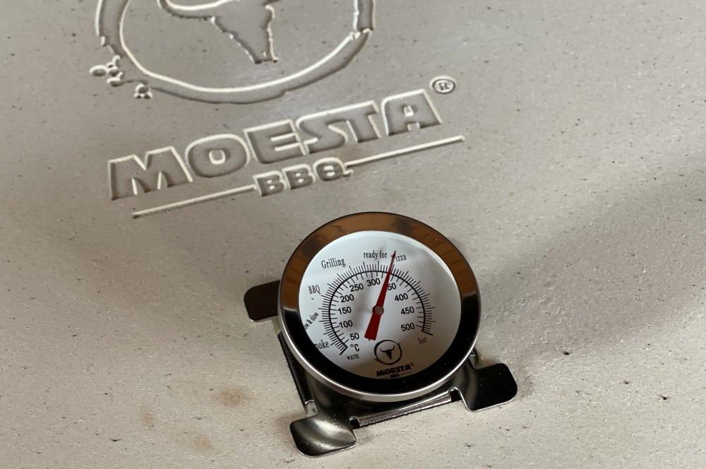 Das Pizzacover sollte auf mindestens 300°C aufgeheizt werden moesta-bbq pizzacover flex-Moesta BBQ Pizzacover Flex 2021 09-Moesta-BBQ Pizzacover Flex 2021 im BBQPit-Test