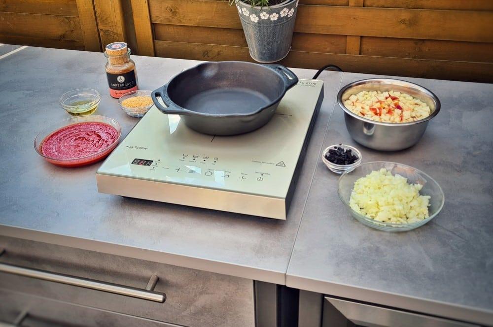 Das Setup steht und das Relish kann zubereitet werden bbq-relish-BBQ Relish 02-BBQ-Relish – Das fruchtige Topping für Steaks und Burger bbq-relish-BBQ Relish 02-BBQ-Relish – Das fruchtige Topping für Steaks und Burger