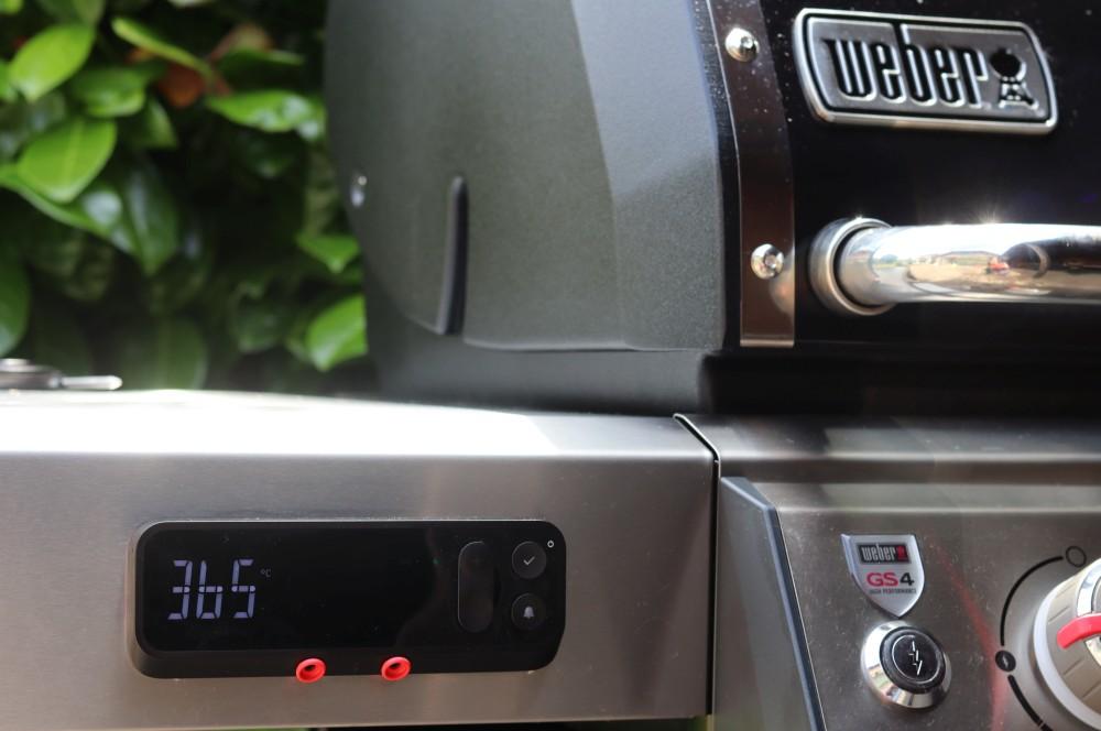 Der Genesis II erreicht 365°C im Garraum weber genesis ii ex-335 gbs-Weber Genesis II EX 335 GBS Smart Grill 12-Weber Genesis II EX-335 GBS – Der smarte Gasgrill von Weber