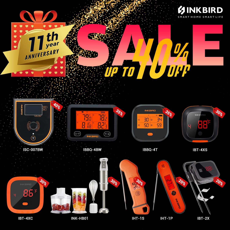 11 Jahre Inkbird - bis zu 40% Rabatt auf ausgesuchte Produkte 11 jahre inkbird-Inkbird 11Jahre Angebote 01-11 Jahre Inkbird – bis zu 40% Rabatt auf ausgesuchte Produkte 11 jahre inkbird-Inkbird 11Jahre Angebote 01-11 Jahre Inkbird – bis zu 40% Rabatt auf ausgesuchte Produkte