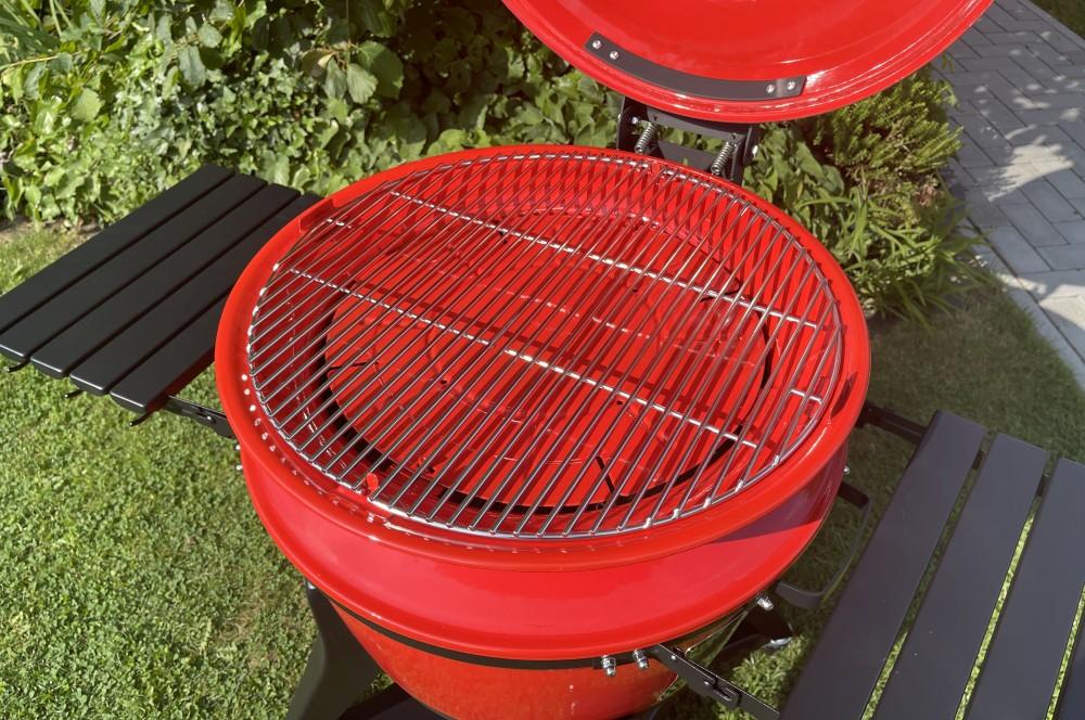 Die Grillfläche kann zu 100% zum indirekten Grillen genutzt werden kamado joe kettle joe-Kamado Joe Kettle Joe 13-Kamado Joe Kettle Joe im BBQPit-Test