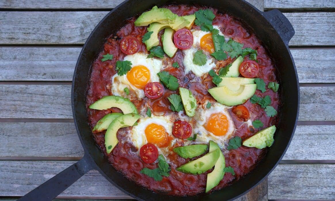Huevos Rancheros huevos rancheros-Huevos Rancheros-Huevos Rancheros – Rezept für das mexikanische Eier-Frühstück
